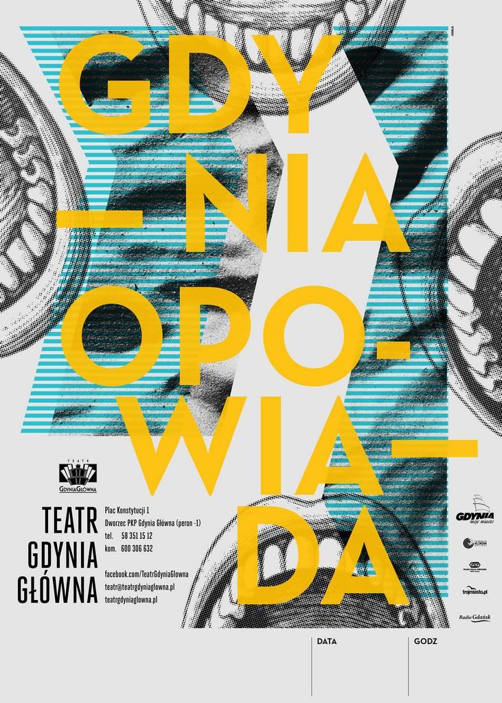 """""""Gdynia opowiada"""", plakat (źródło: mat. prasowe)"""