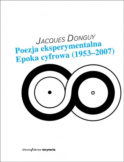 """Jacques Donguy """"Poezja eksperymentalna"""" – okładka (źródło: materiały prasowe)"""
