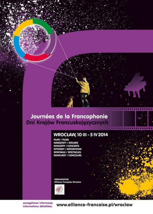 Dni Krajów Francuskojęzycznych, plakat (źródło: mat. prasowe organizatora)