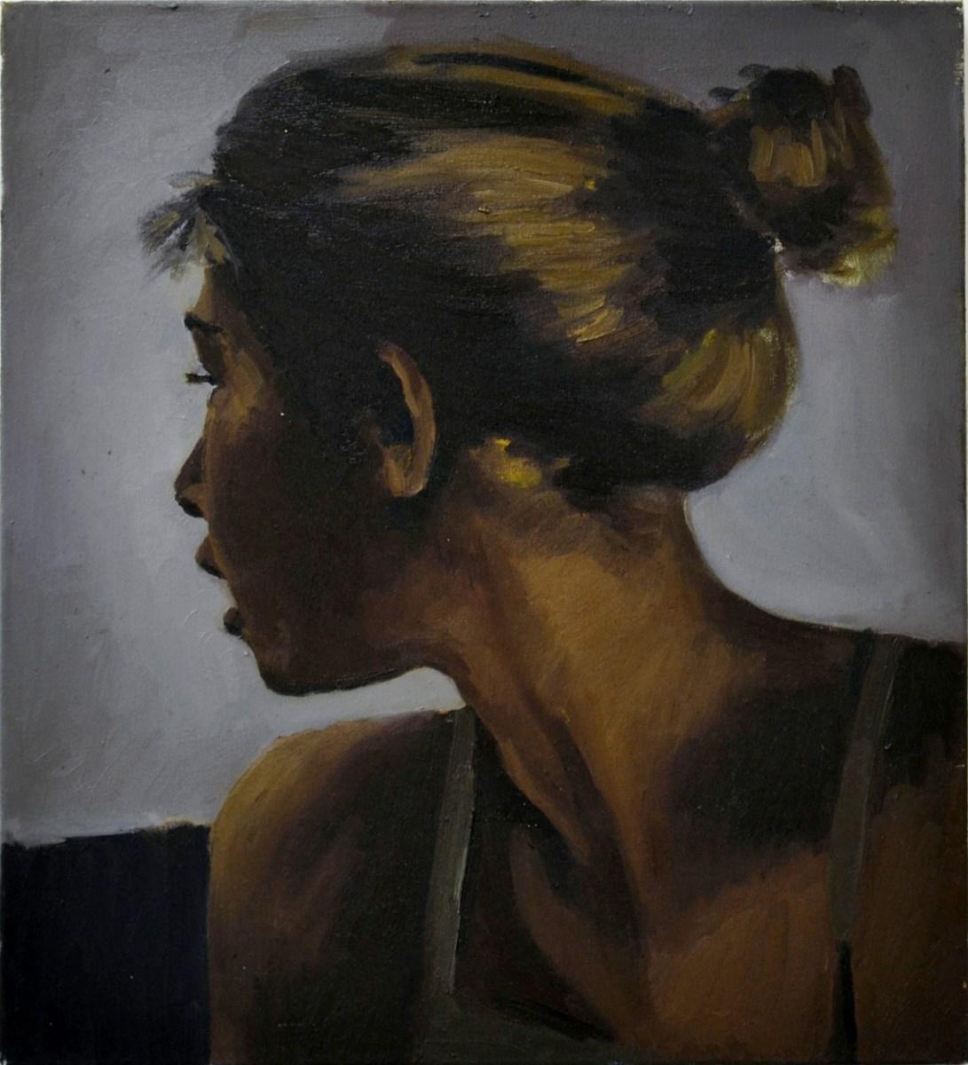"""Lynette Yiadom-Boakye, """"Observer of Spring"""" (źródło: materiały prasowe organizatora)"""