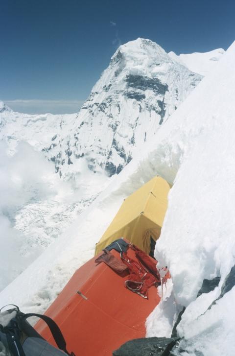 Annapurna, 1982, z archiwum Macieja Berbeki (źródło: materiały prasowe organizatora)