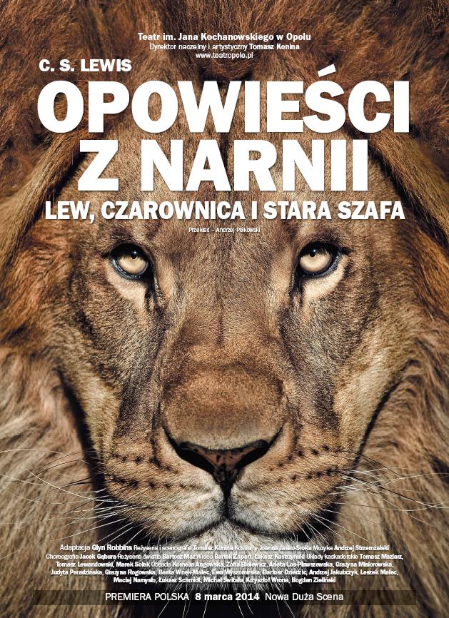 """""""Opowieści z Narnii: Lew, czarownica i stara szafa"""", plakat (źródło: mat. prasowe)"""