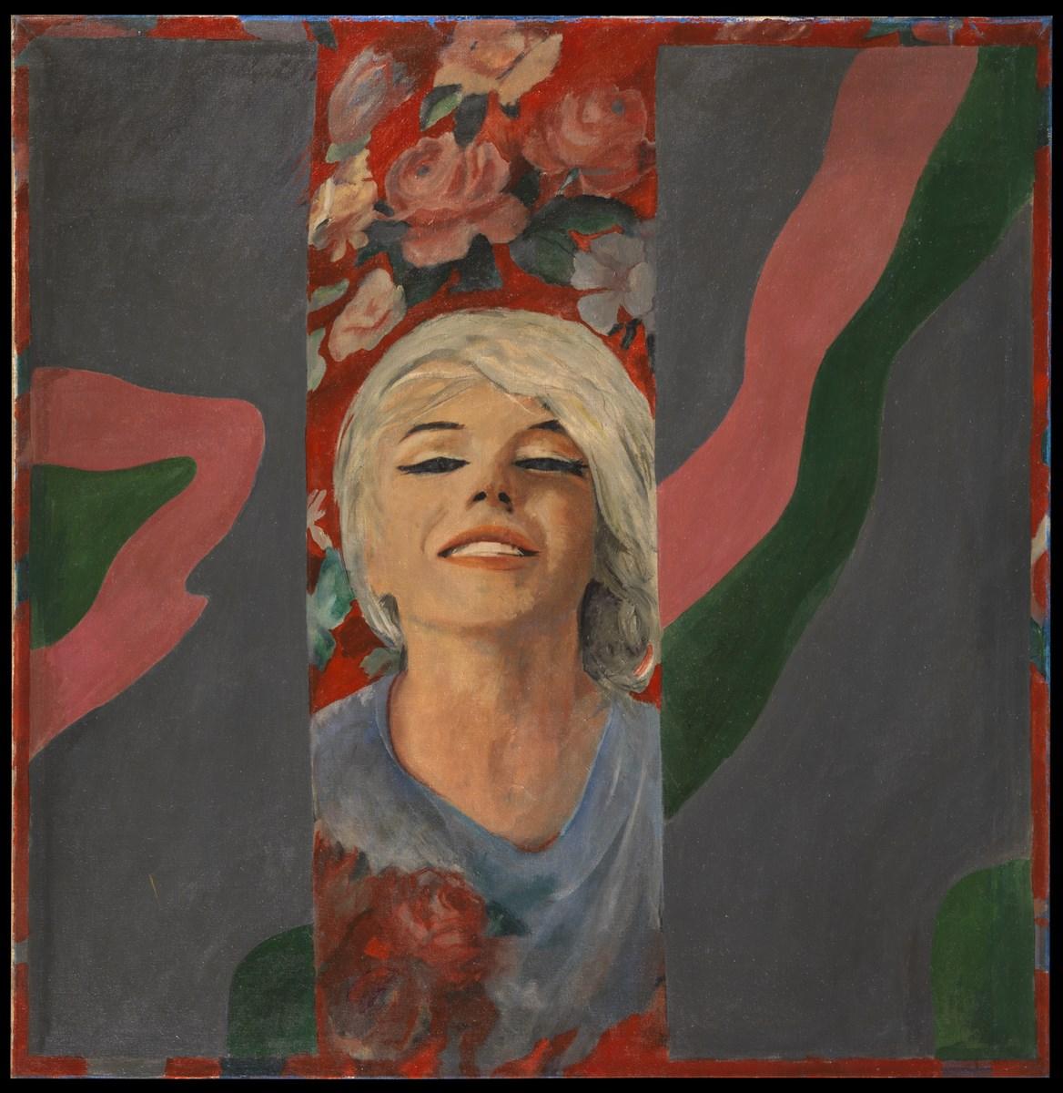 """Pauline Boty, """"Colour her gone"""", 1962 (źródło: materiały prasowe organizatora)"""