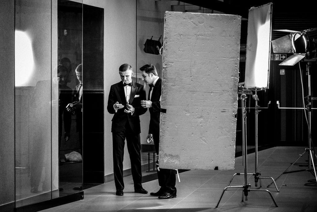 """""""Rat Pack, czyli Sinatra z kolegami"""", fot. Łukasz Giza / Teatr Muzyczny Capitol (źródło: mat. prasowe)"""