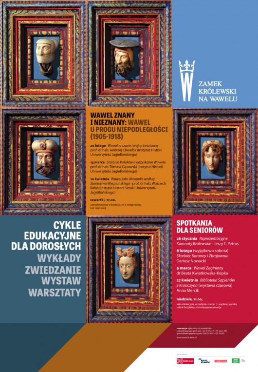 """""""Wawel znany i nieznany"""", plakat (źródło: materiały prasowe)"""
