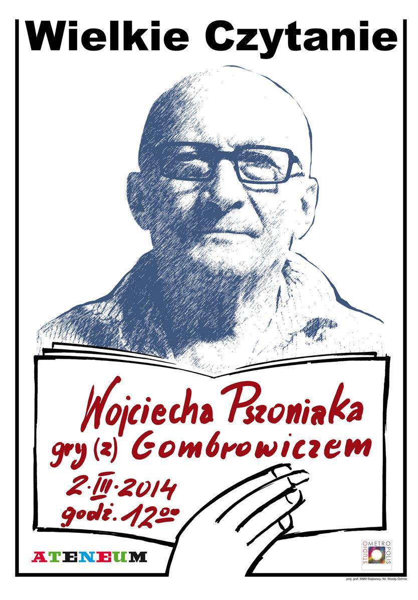 """""""Wielkie Czytanie"""" – plakat (źródło: materiały prasowe)"""