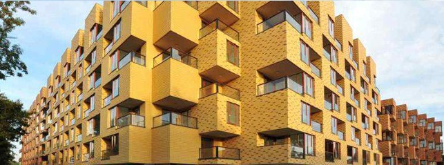 Budynek mieszkalny we Wrocławiu (ul. Grabiszyńska/Inżynierska), autorstwa Biura Projektów Lewicki Łatak (źródło: materiały prasowe organizatora)
