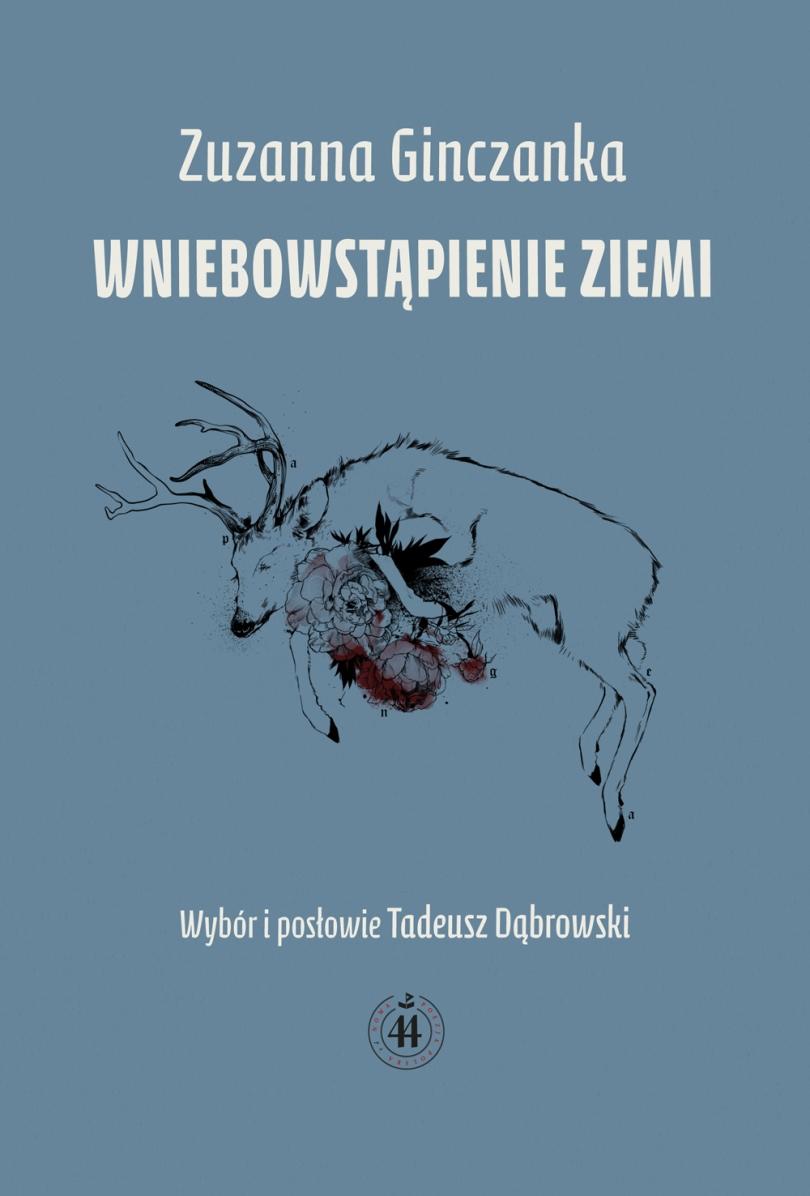 """Zuzanna Ginczanka """"Wniebowstąpienie Ziemi"""" – okładka (źródło: materiały prasowe)"""