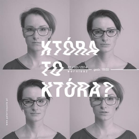 """Projekt """"Która to która?"""", Anna i Elżbieta Gądek (źródło: materiały prasowe galerii)"""