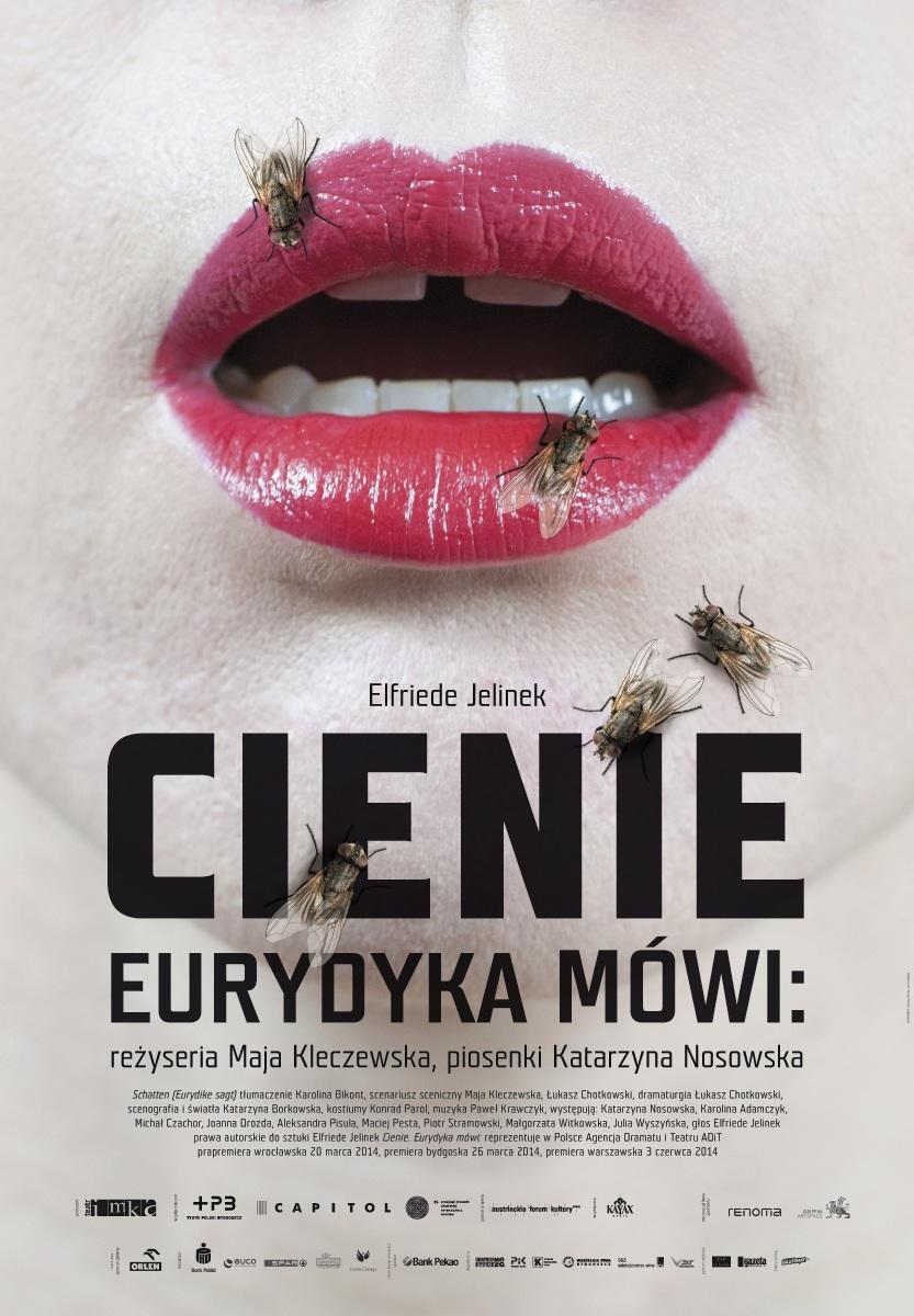 """""""Cienie. Eurydyka mówi"""", plakat (źródło: mat. prasowe)"""