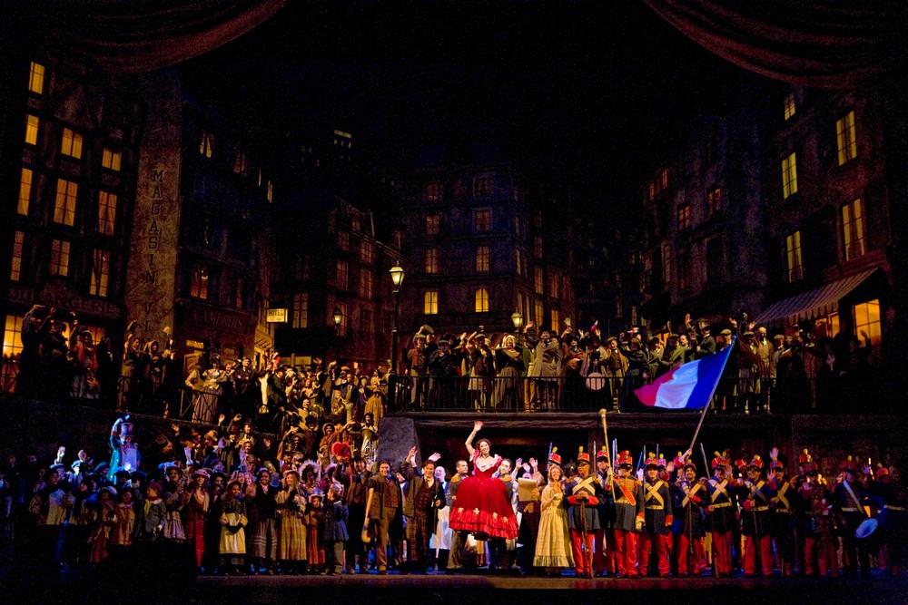 "Giaccomo Puccini ""Cyganeria"", fot. Cory Weaver/Metropolitan Opera (źródło: materiały prasowe organizatora)"