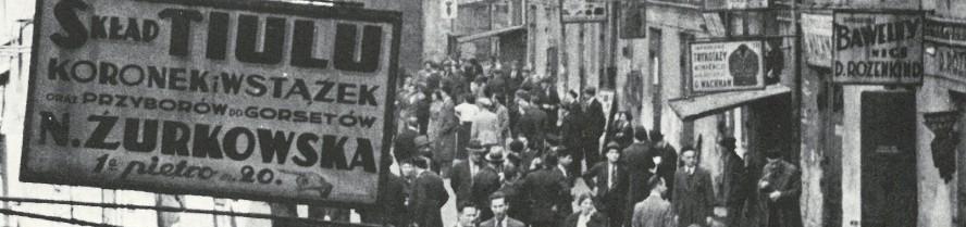"""""""Czym żyje żydowska ulica? Oblicza różnorodności w galerii dwudziestolecia międzywojennego"""" (źródło: materiały prasowe organizatora)"""