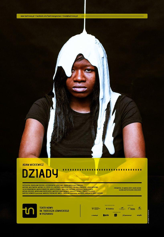 """""""Dziady"""", reż. Radosław Rychcik – plakat (źródło: materiały prasowe)"""