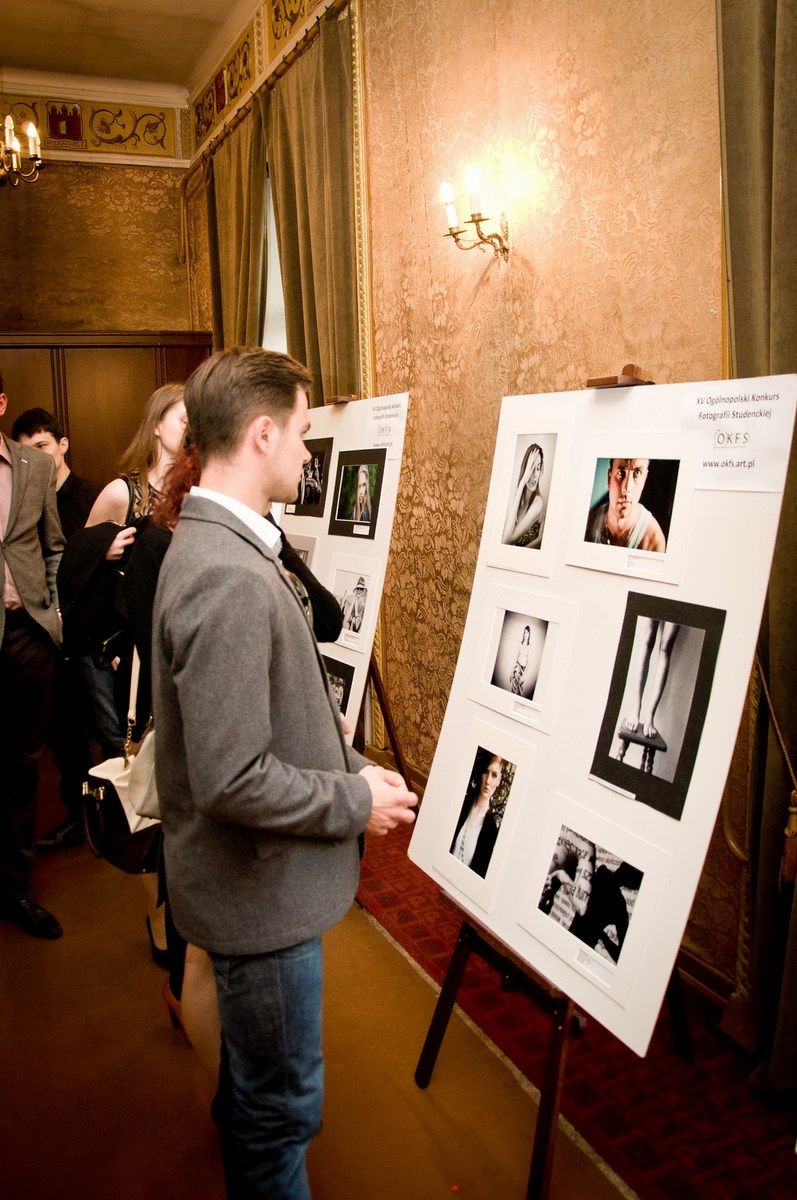 Gala Ogólnopolskiego Konkursu Fotografii Studenckiej 2013 (źródło: materiały prasowe organizatora)