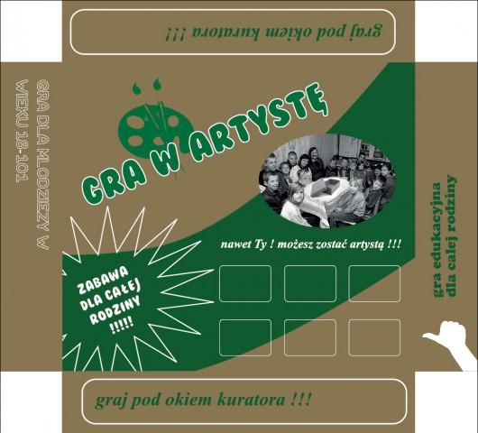 Gra w artystę, Galeria Arsenał w Białymstoku (źródło: materiały prasowe organizatora)