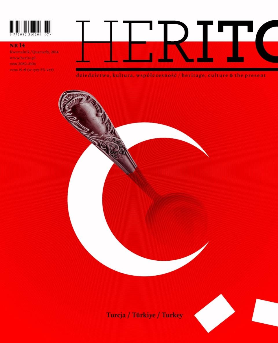 """""""Herito"""", nr 14 – okładka (źródło: materiały prasowe)"""