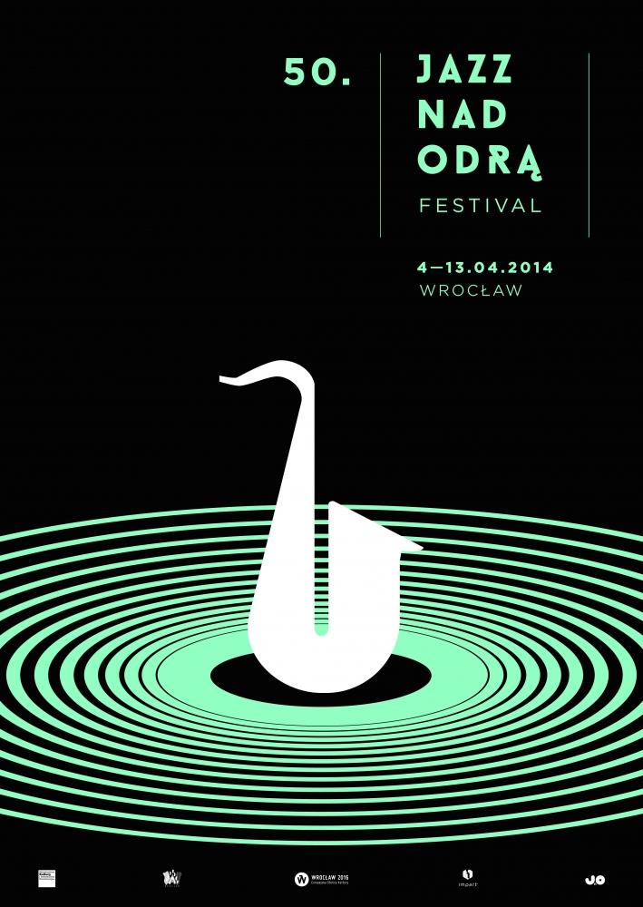 50. Jazz nad Odrą Festival, plakat (źródło: mat. prasowe)