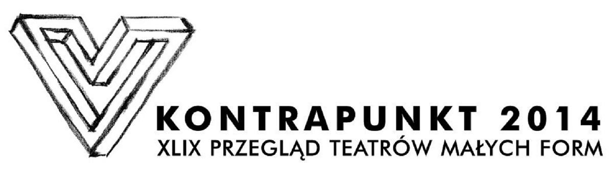 49. Przegląd Teatrów Małych Form Kontrapunkt 2014, logo (źródło: mat. prasowe)