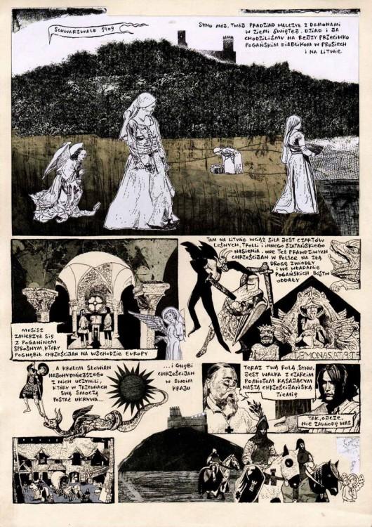 """Przemysław Truściński, """"Demony scen"""" (źródło: materiały prasowe organizatora)"""