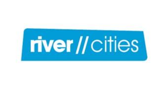 """Logo projektu """"River of Opportunities // Rzeki możliwości"""" (źródło: materiały prasowe organizatora)"""