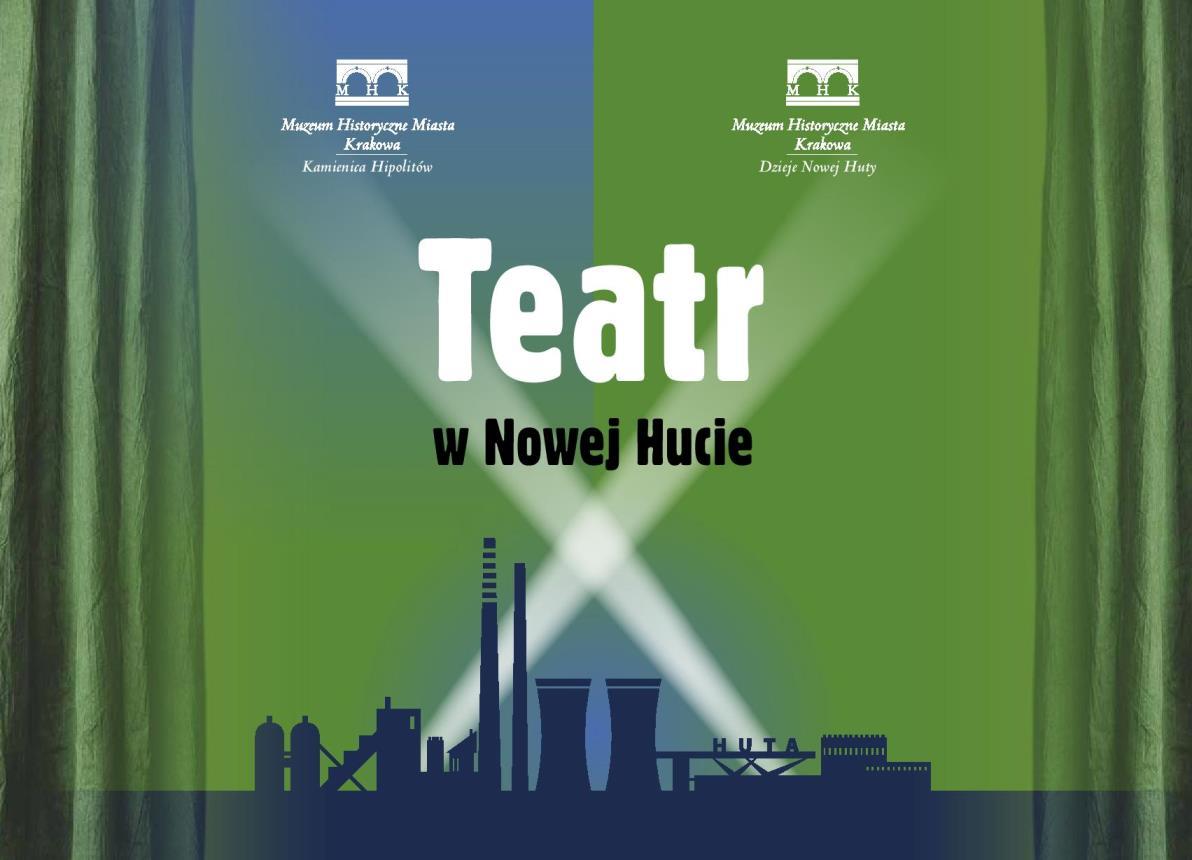 """""""Teatr w Nowej Hucie"""" – okładka (źródło: materiały prasowe)"""