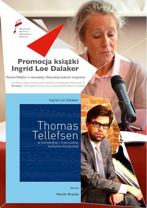 """""""Thomas Tellefsen w norweskiej i francuskiej kulturze muzycznej"""" (źródło: mat. prasowe)"""