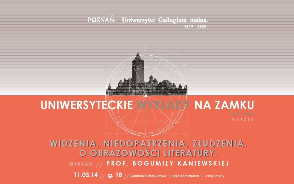 """""""Uniwersyteckie Wykłady na Zamku"""" – logo (źródło: materiały prasowe)"""