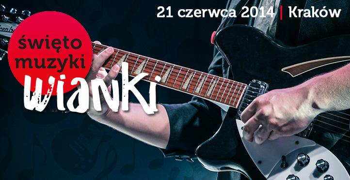 """""""Wianki – Święto Muzyki 2014"""" (źródło: materiały prasowe organizatora)"""
