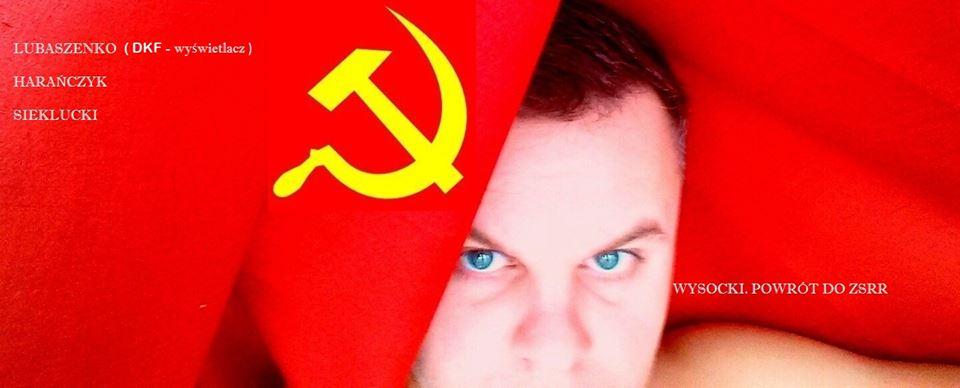 """""""Wysocki. Powrót do ZSRR"""" (źródło: mat. prasowe)"""