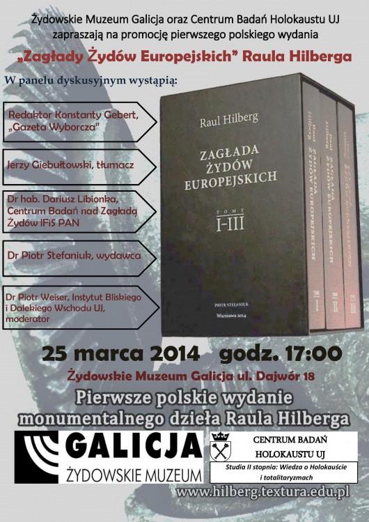 """Plakat """"Zagłada Żydów Europejskich"""" (źródło: materiały prasowe)"""