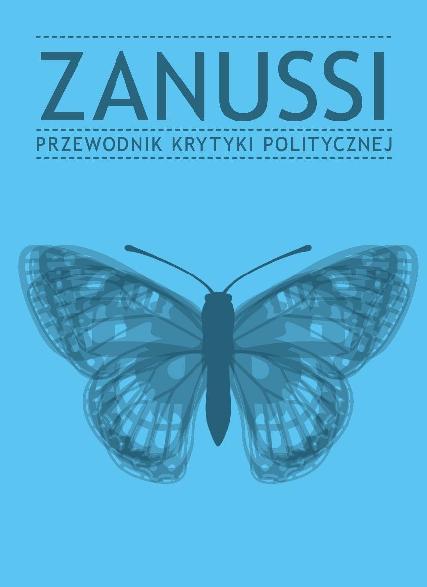 """""""Zanussi. Przewodnik Krytyki Politycznej"""" – okładka (źródło: materiały prasowe)"""