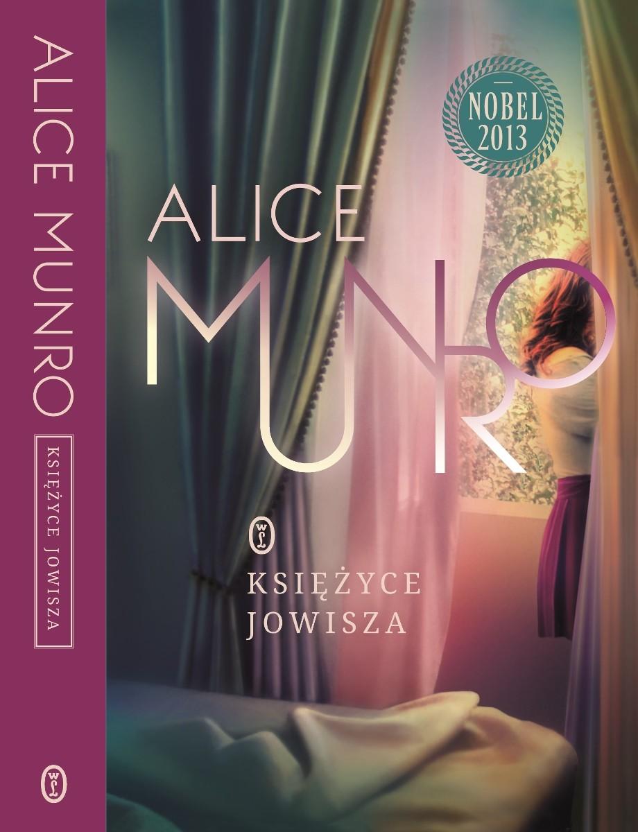 """Alice Munro """"Księżyce Jowisza"""" – okładka (źródło: materiały prasowe)"""