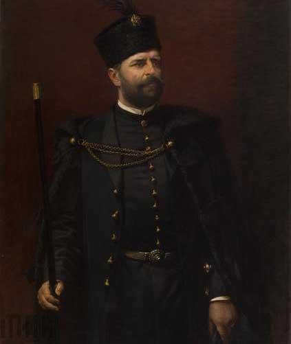 Portret Andrzeja Potockiego autorstwa Kazimierza Pochwalskiego, 1903 (źródło: materiały prasowe)