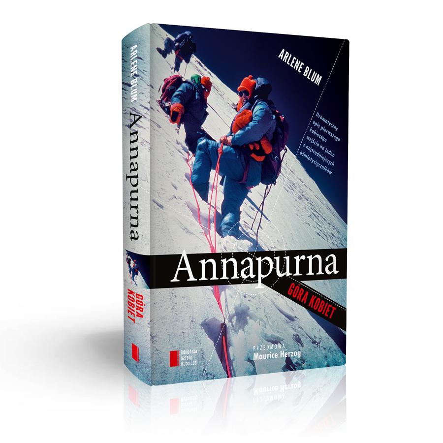 """Arlene Blum """"Annapurna. Góra kobiet"""", okładka (źródło: materiały prasowe)"""