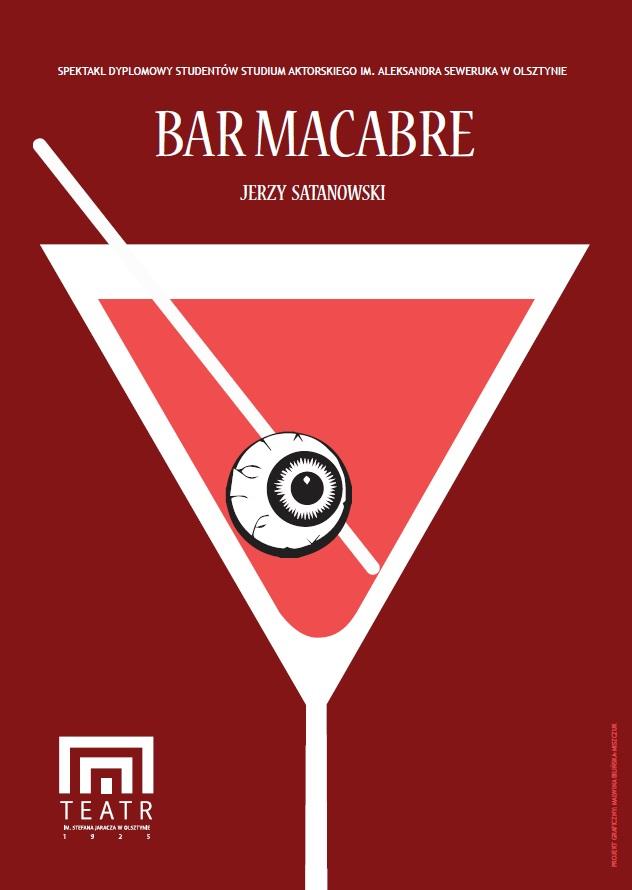 """""""Bar Macabre"""", plakat (źródło: mat. prasowe)"""