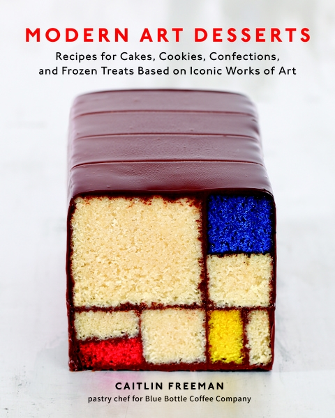Caitlin Freeman, Mondrian Cake, Modern Art Desserts: Recipes for Cakes, Cookies, Confections, and Frozen Treats Based on Iconic Works of Art, 2013 (źródło: materiały prasowe organizatora)