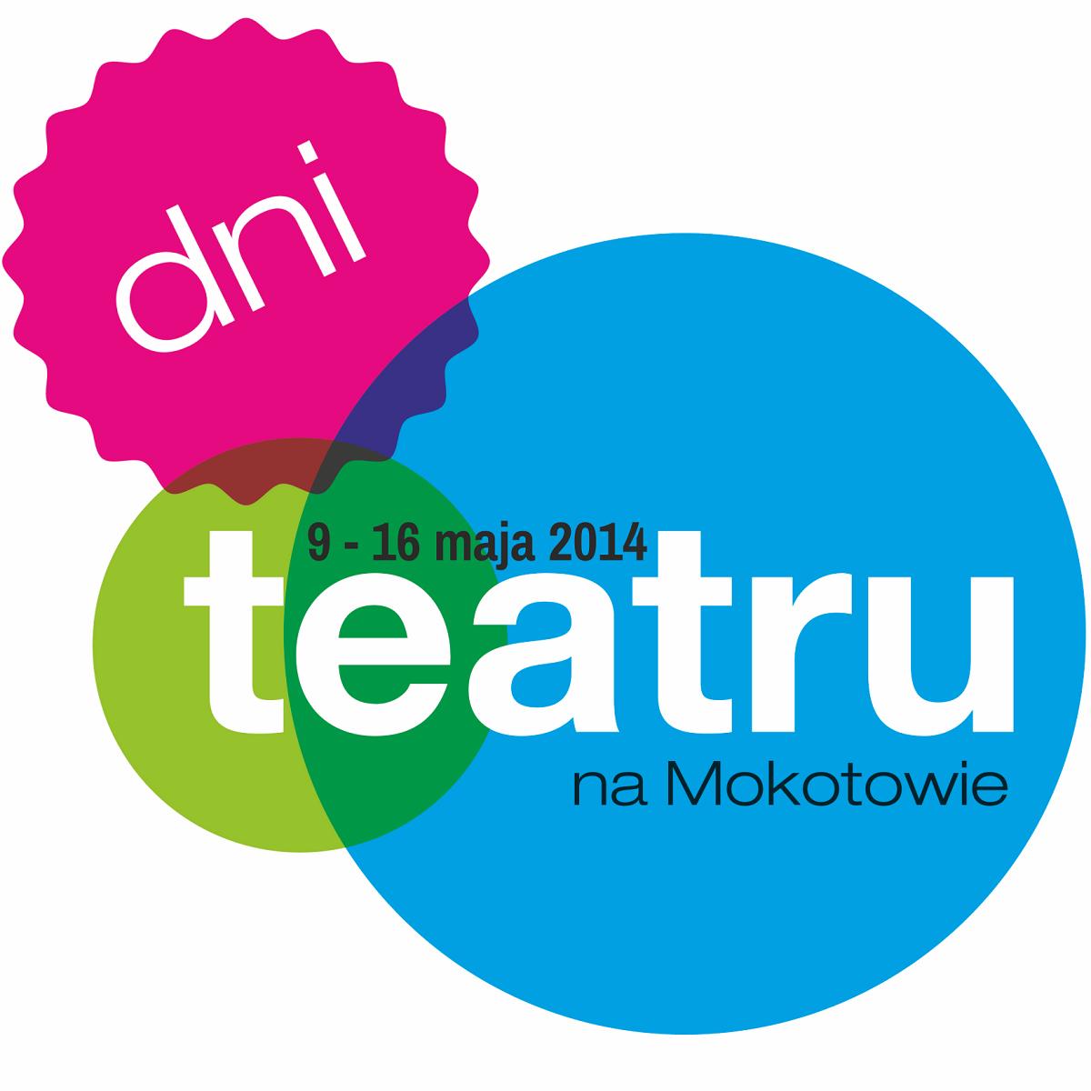 Dni Teatru na Mokotowie, logo (źródło: mat. prasowe)