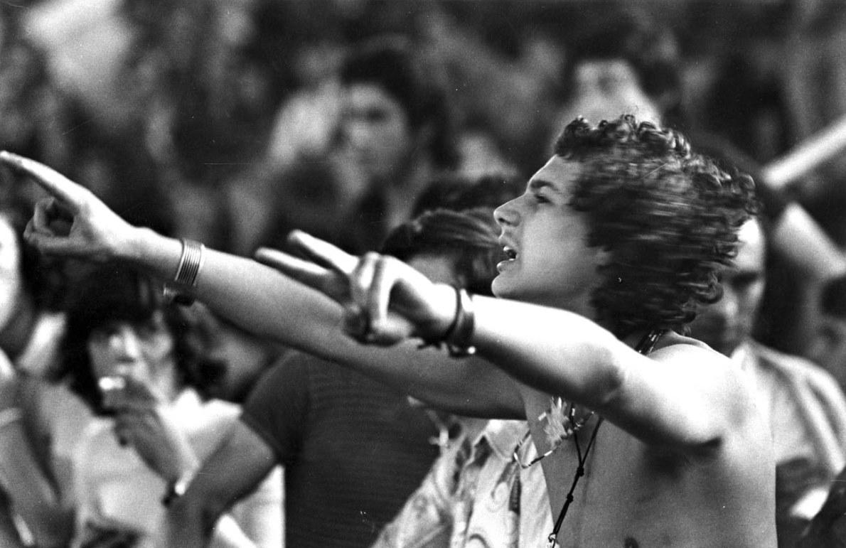 Festiwal muzyczny w Cascais, 1973, fot. Alfredo Cunha (źródło: mat. prasowe)
