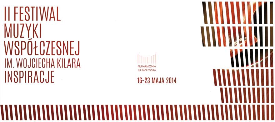 II Festiwal Muzyki Polskiej im. Wojciecha Kilara, logo (źródło: mat. prasowe)