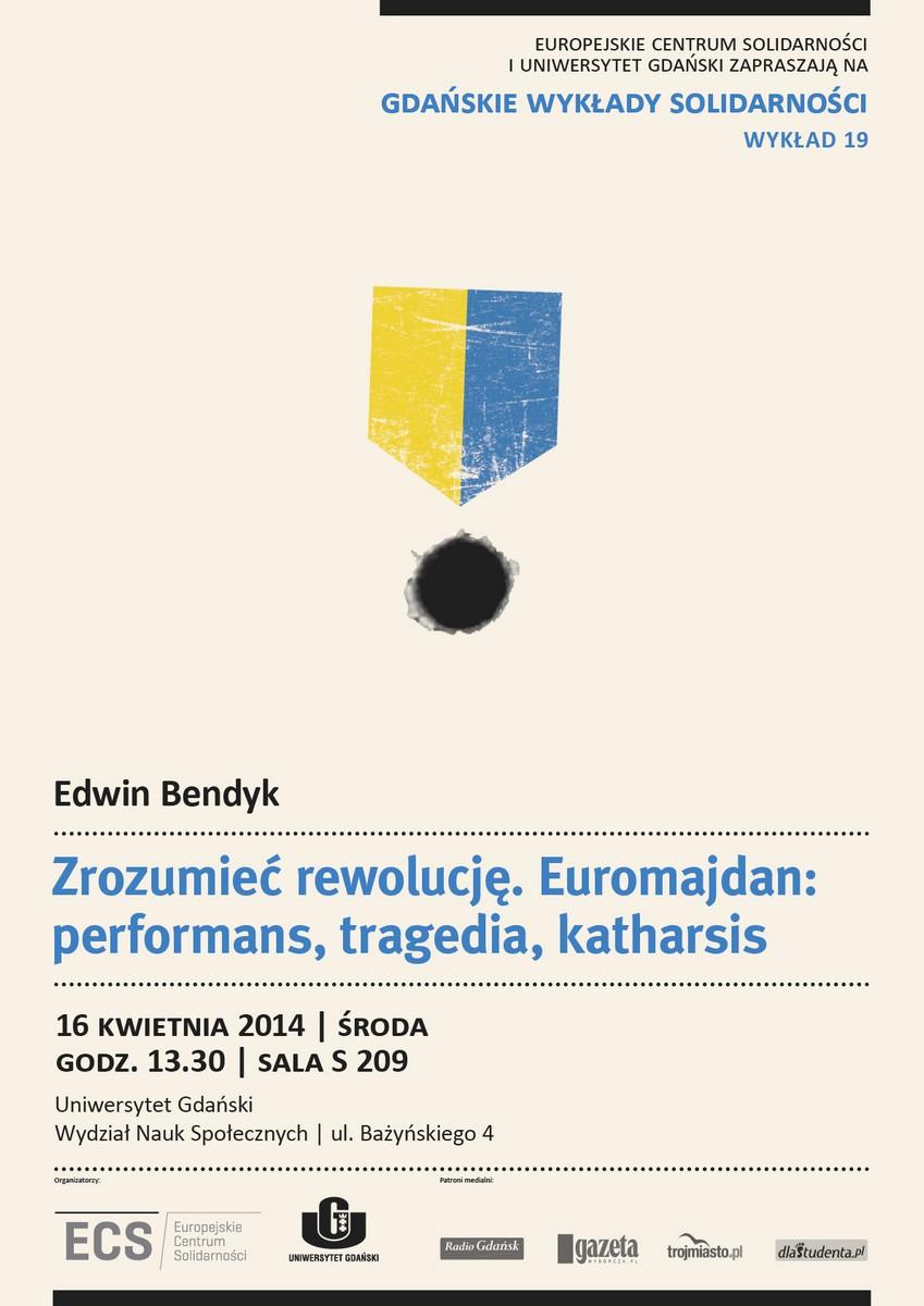 """""""Gdańskie Wykłady Solidarności"""", plakat (źródło: materiały prasowe)"""