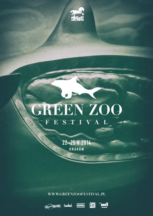 Green ZOO Festival, plakat (źródło: mat. prasowe)