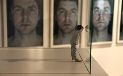 """Grzegorz Drozd, """"Autoportret"""", wydruk 3D, tworzywo sztuczne (źródło: materiały prasowe organizatora)"""