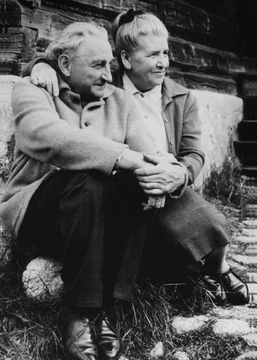 Jan i Zofia Sztaudyngerowie, Zakopane, 1968; fot. Krystyna Gorazdowska, z archiwum rodziny (źródło: mat. prasowe)