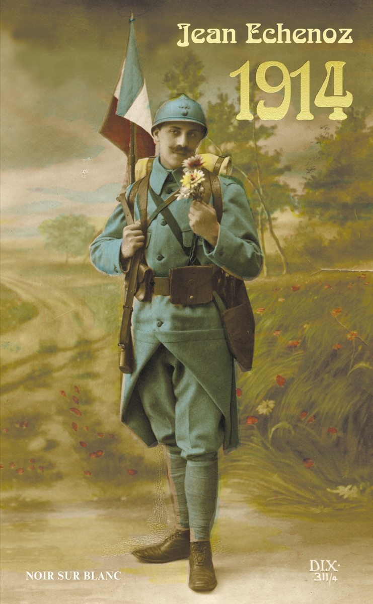 """Jean Echenoz """"1914"""", okładka (źródło: materiały prasowe)"""