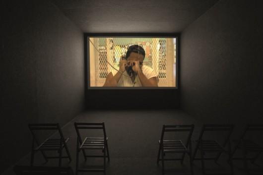 """Lars Laumann, """"Zamknij się, dzieciaku, to nie bingo"""", 2009, wideo, 58 min (źródło: materiały prasowe organizatora)"""