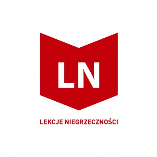 """""""Lekcje Niegrzeczności"""", logotyp (źródło: materiały prasowe)"""