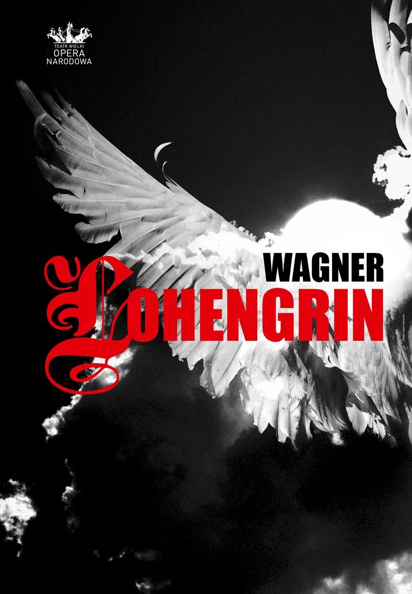 """Lohengrin"", plakat (źródło: mat. prasowe)"