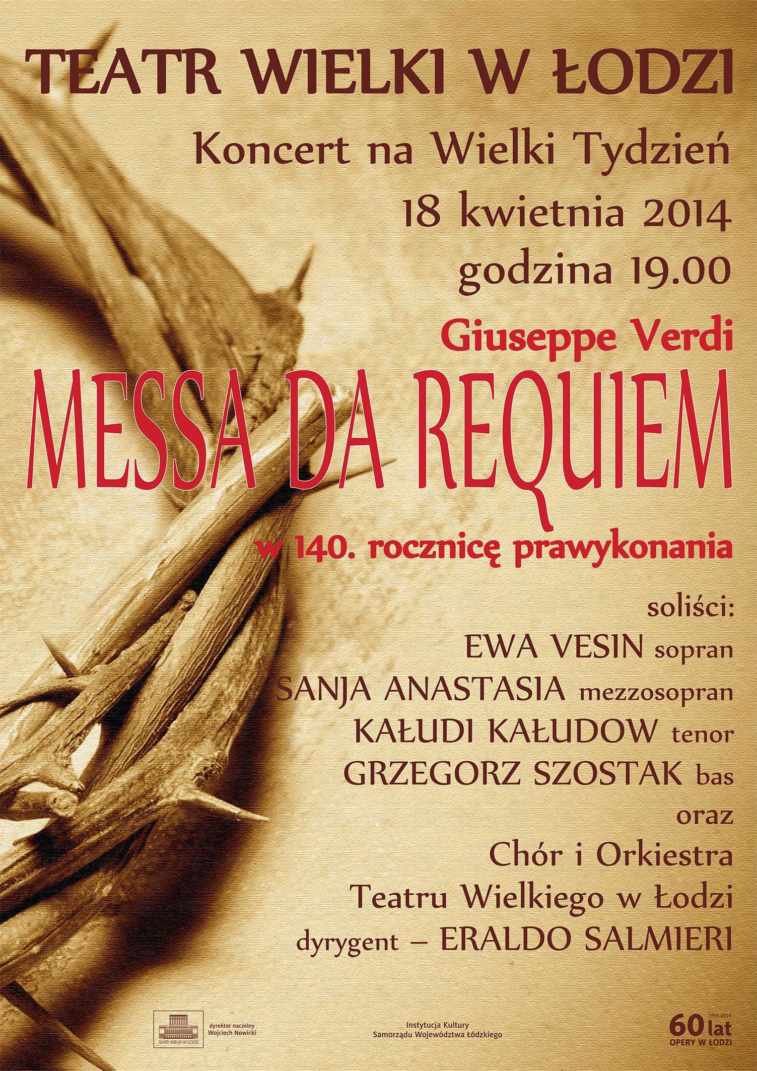 """""""Messa da Requiem"""" (źródło: materiały prasowe organizatora)"""