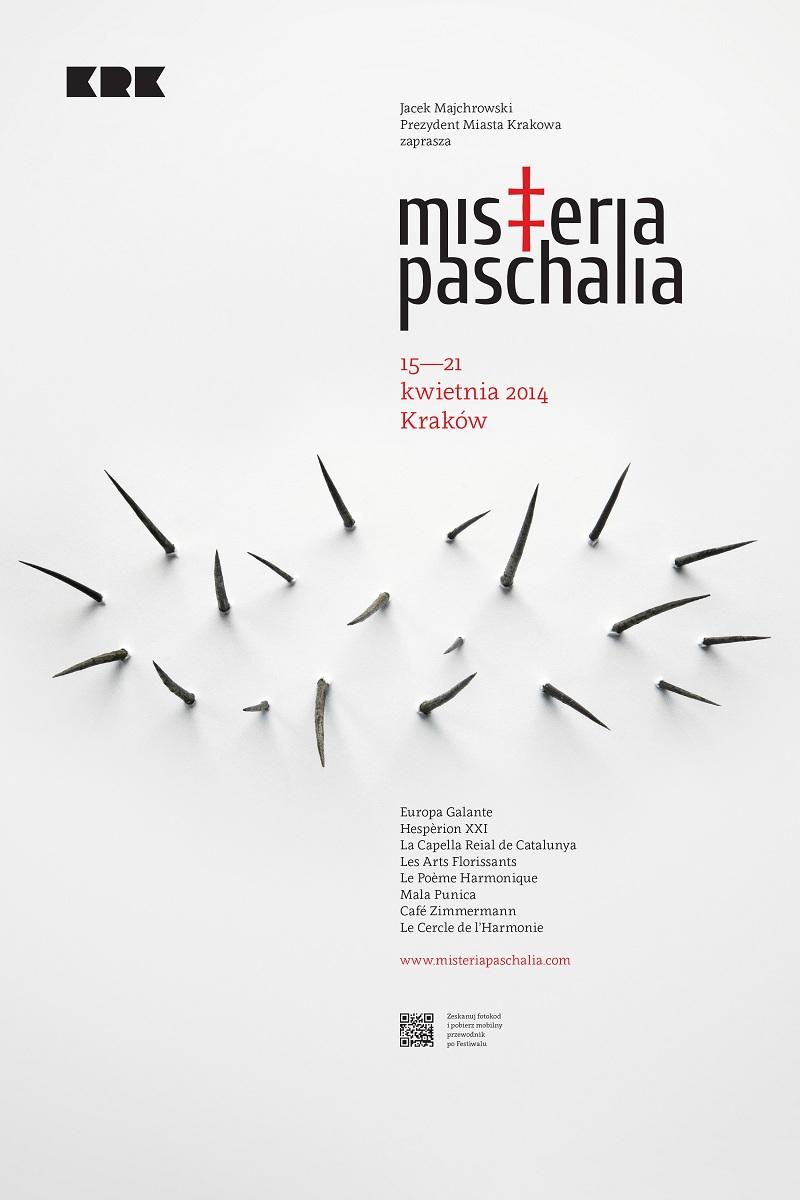 Misteria Paschalia 2014, plakat (źródło: mat. prasowe)
