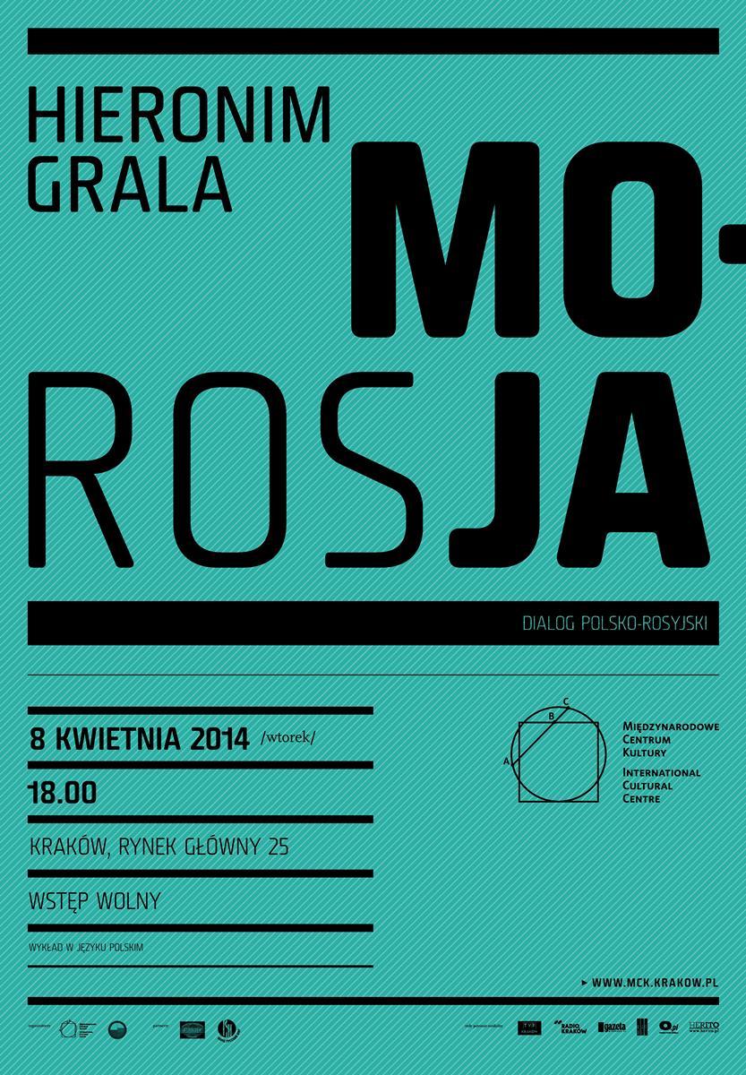 """""""Moja Rosja"""" – plakat (źródło: materiały prasowe)"""